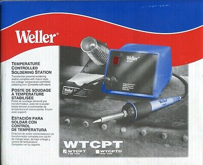 £69.45 • Buy NEW IN BOX! WELLER Temperature Controlled Soldering UNIT Station Model WTCPT H21