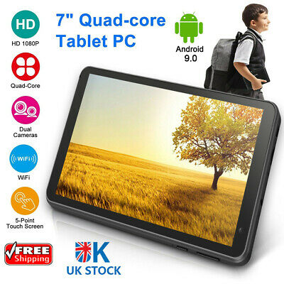 £39.99 • Buy 32GB 7  Android 8.1 Quad Core Dual Camera Bluetooth Wifi Tablet PC For Kid Child