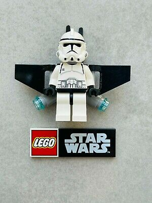£13.99 • Buy Genuine LEGO Minifigure Star Wars – Clone Trooper With Jet Pack - Sw0127