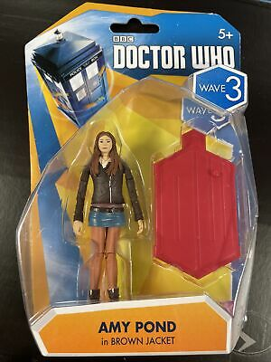 £8.99 • Buy New - Unopened Box - Doctor Who - Amy Pond In Brown Jacket 3.75  Wave 3 Figure