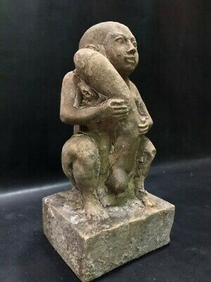 £175.50 • Buy Replica Of Phallic In Ancient Egypt For Fertility - Altar Statue Made From Lime