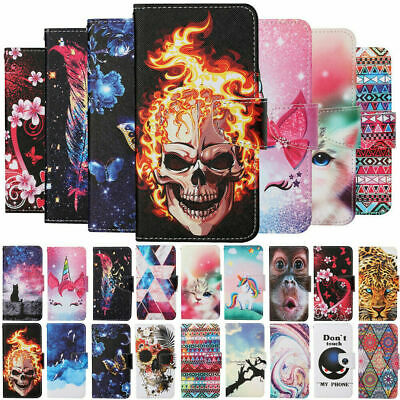 £4.98 • Buy For Samsung Galaxy A12 A32 A52 A22 Case Painted Leather Wallet Flip Stand Cover