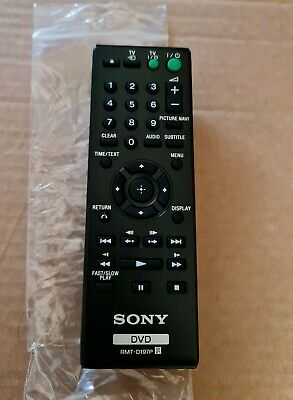 £8.99 • Buy Genuine Original Sony RMT-D197P DVD Player Remote Control For DVP Series NEW
