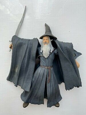 £10.99 • Buy Lord Of The Rings Gandalf Grey Action Figure Toy Biz Fellowship Of Ring Series