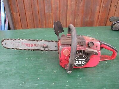 £72.74 • Buy Vintage HOMELITE 330 Chainsaw Chain Saw With 16  Bar