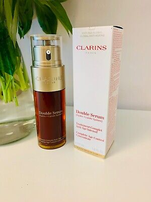 £39.99 • Buy Clarins Complete Age Control 50ml Double Serum Concentrate New