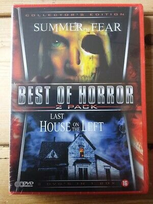 £5 • Buy Summer Of Fear (1978) + Last House On The Left (1972) 2 DVD Set - Wes Craven