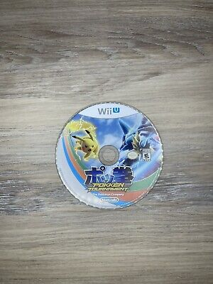 $9.95 • Buy Pokken Tournament (Wii U, 2016) Disc Only Tested