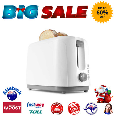 AU38.40 • Buy X-MAS Toaster Cancel Buttons Bread White 2 Slice  Electric Defrost Reheat