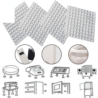 £3.69 • Buy Small & Large 3M Self Adhesive RUBBER FEET ~ CLEAR ~ Sticky Pads 6/8/10mm X 2mm