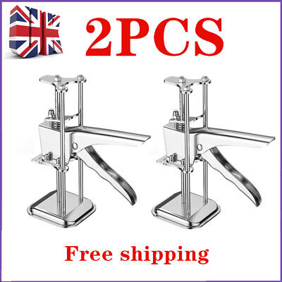 £14.59 • Buy 2 * LABOR-SAVING Arm Stainless Steel Tile Locator Wall Leveling Lifting Tool UK
