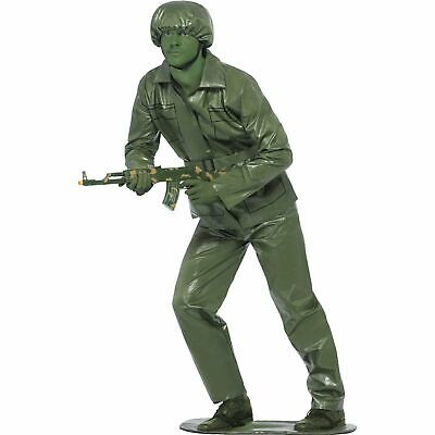 £23.49 • Buy Green Plastic Toy Story Army Soldier Military Adults Mens Fancy Dress Costume