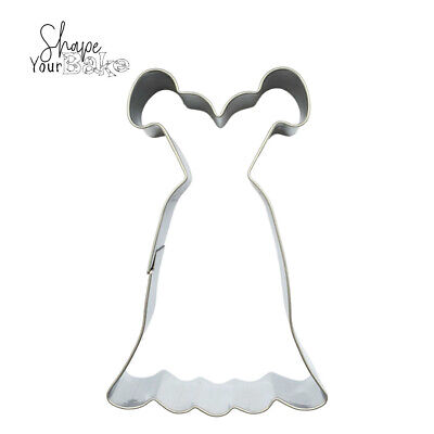 £2.99 • Buy Princess Dress Cookie Pastry Biscuit Cutter Cakes Fondant Dough Baking Tool