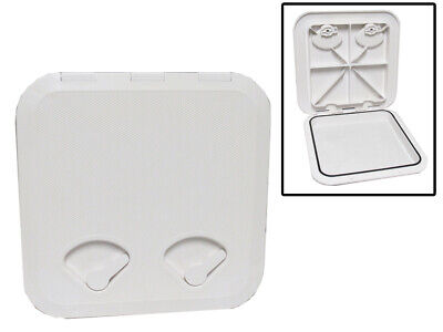 £26.99 • Buy Boat Deck Inspection Hatch (370MM X 375MM White Square Plastic Marine)