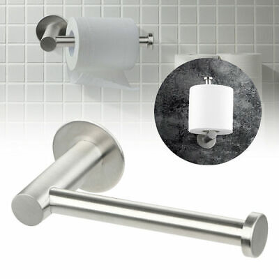 AU13.15 • Buy Wall Mounted Bathroom Toilet Paper Holder Rack Tissue Roll Stand Stainless Steel