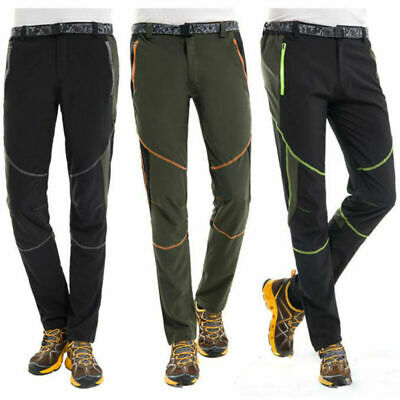 £13.89 • Buy Mens Trousers Casual Trekking Soft Shell Pants Cargo Work Army Combat Hiking