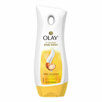 AU24.43 • Buy OLAY Ultra Moisture In-Shower Body Lotion With Shea Butter 15.20 Oz