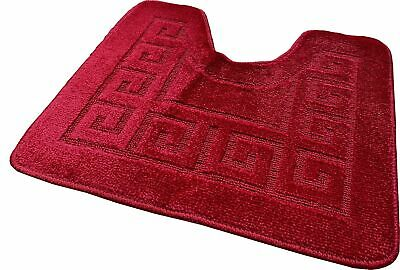 £3.99 • Buy Pedestal Mat For Toilet Or  Sink 1 Piece Assorted Colours Clearance Stock