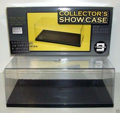 £46.08 • Buy Triple 9 Plastic Display / Collectors Show Case For 1/18 Scale Models -Stackable