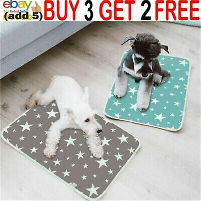 £11.29 • Buy Large Pet Pee Pads Mats Puppy Training Pads Toilet Wee Cat Dog Supplies Washabaa
