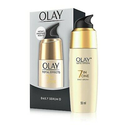 AU28.84 • Buy Olay Serum Total Effects 7 In 1, Daily Serum, With Anti-Ageing Benefits, 50 Ml