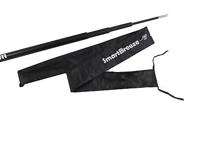 £12.49 • Buy Telescopic Flag Pole Extendable 5M With Storage Bag (Windsock Camping Festival)