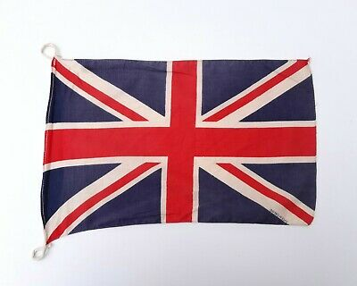 £20 • Buy Original WW2 Cotton Soldiers Union Jack Kit Bag Flag - Made In England