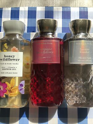 £29 • Buy Bath And Body Works Shower Gels Set Of 3