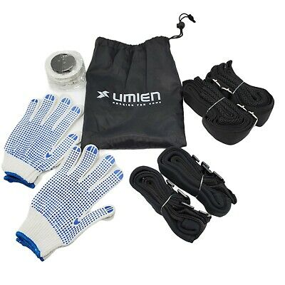 AU18.56 • Buy Umien Moving & Lifting Straps To Carry Heavy Objects, Appliances & Furniture