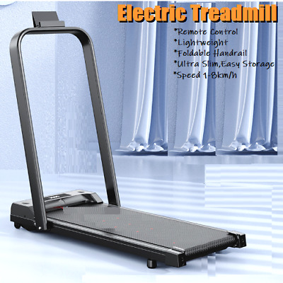 AU349.98 • Buy Electric Treadmill Remote Control LCD Home Running Walking Pad Fitness 1-8km/h