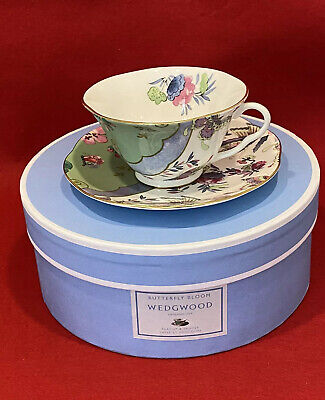 £48.95 • Buy Wedgwood Butterfly Bloom Tea Cup & Saucer 1st Quality Christmas Gift Present