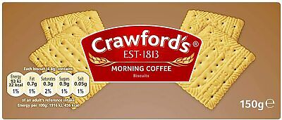 £39.99 • Buy 20x150g CRAWFORDS Morning Coffee Biscuits Classic Sweets Snacks (Vegan)