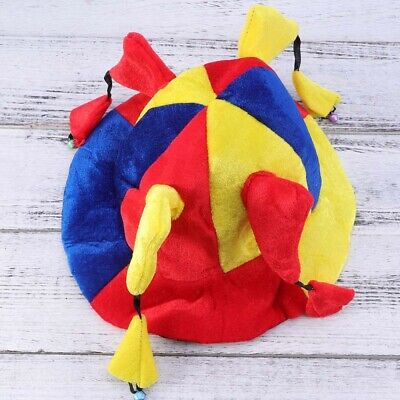 £7.11 • Buy 1pc Adult Kid Jester Hat Costume Multi-angle Funny Performance Prop Jester Hat