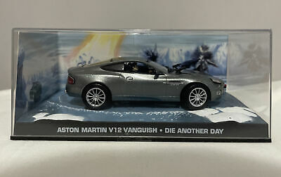 £4.99 • Buy Aston Martin V12 Vanquish James Bond Car Collection Fabbri 2006 Die Another Day