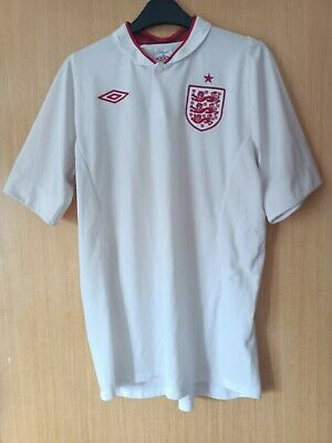 £7.50 • Buy England Home Shirt 2012-2013 Tailored By Umbro Size 42 Large Men's