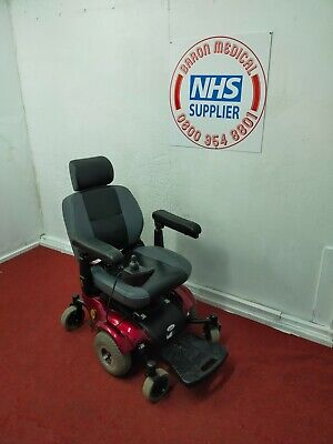 £95 • Buy 'drive' Motorised Red Electric Wheelchair. Will Dismantle For Transportation