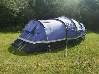 £120 • Buy A Hi-Gear  ZENOBIA - 6 (6 Man Tent) With An Immaculate Tent Carpet And  A Few...