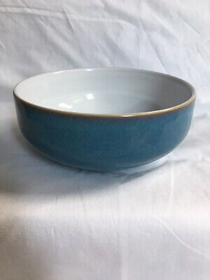 £9 • Buy 1x DENBY AZURE 6 INCH CEREAL BOWL - Good Condition - ONLY 2 Available