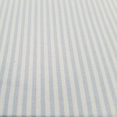 £42.95 • Buy ROMO Woven Pinstripe Cotton Fabric 14.5mtrs  Secounds
