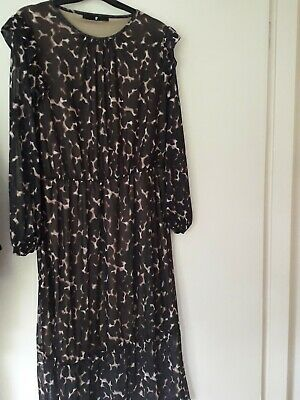 £1.70 • Buy Leopard Print Dress Size 14 From Very Long Sleeved Size 14