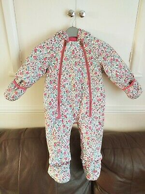 £3.20 • Buy Gorgeous Baby Girls Joules Everly Ditzy Water Proof Snow/pramsuit 9-12 Months