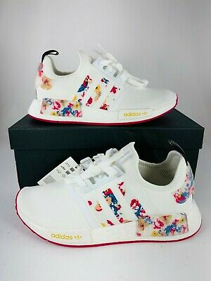 AU178.50 • Buy Adidas Her Studio London X NMD_R1 Floral (Women's US Size 8.5) New Shoes FY3666