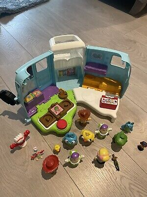 £4.99 • Buy Fisher Price Little People Toy Story Camper Van And Figures
