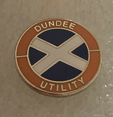 £7.99 • Buy Very Old Rare Dundee Supporter Enamel Badge - Utility Hooligan Firm
