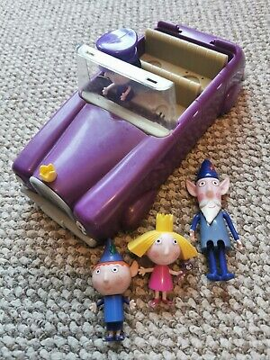 £5.99 • Buy BEN AND HOLLY Nanny Plum's Car Ben Holly Wise Old Elf Figures