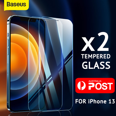 AU8.99 • Buy 2x BASEUS For Apple IPhone 13 13 Pro 12 Pro 11 Tempered Glass Screen Protector