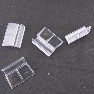 AU11.77 • Buy Accessories Glass Cover Clip Stand Pet Supplies Fish Tank Support Holder
