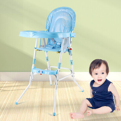 £28.01 • Buy Collapsible Baby Highchair Infant Feeding Seat Toddler Table Chair+Tray Adjust