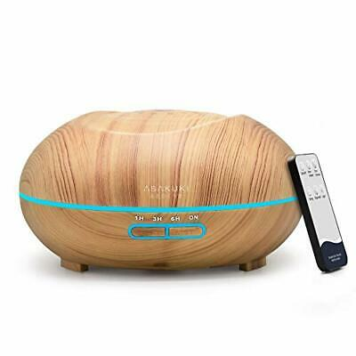 AU41.52 • Buy ASAKUKI Essential Oil Diffuser 500ml Remote Control For Aromatherapy, Up To 16H