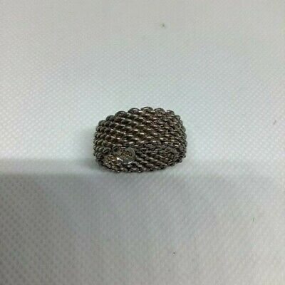 £150 • Buy Tiffany And Co Silver Mesh Ring